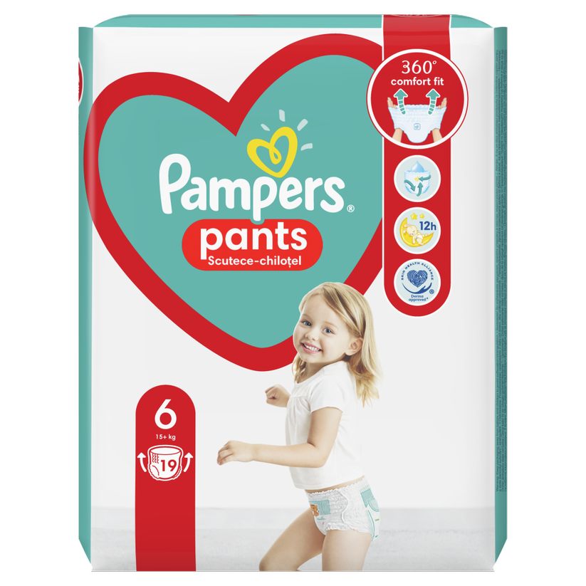 PAMPERS BABY PANTS 6  15+ X 19BUC