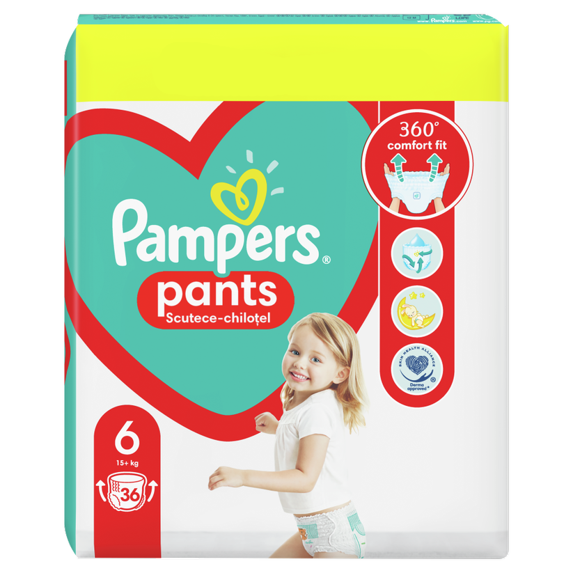 PAMPERS BABY PANTS 6 MAXI 15+ X 36BUC
