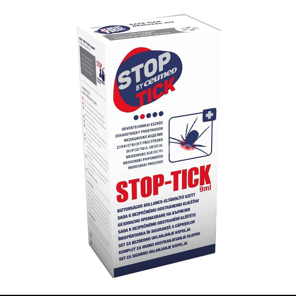 STOP THE TICK SET PENTRU INDEPARTAREA CAPUSELOR