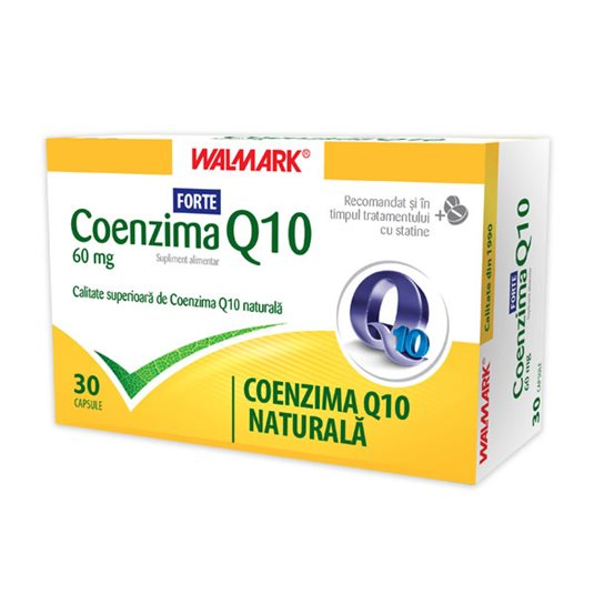 WALMARK COENZIMA Q10 FORTE 60MG X 30 CAPSULE
