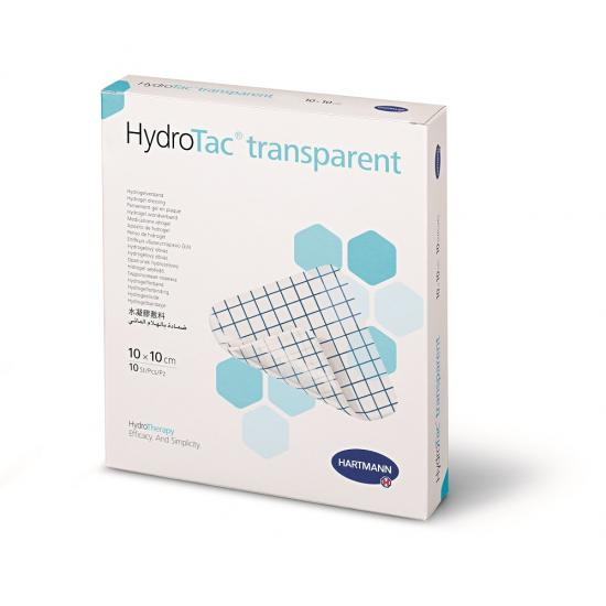 HARTMANN HYDROTAC PANSAMENT TRANSPARENT 10X10CM X10BUC