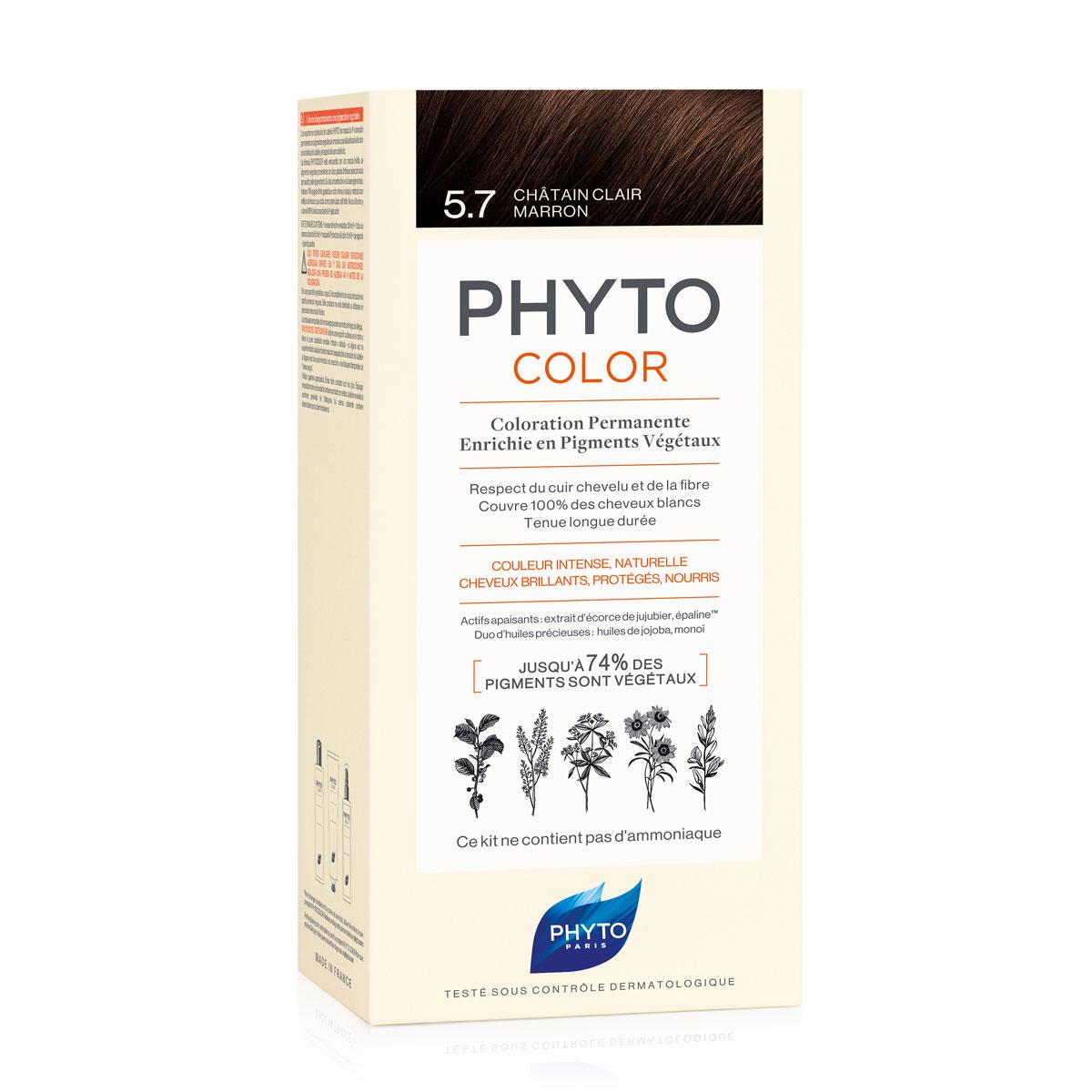 PHYTOCOLOR VOPSEA 5.7 LIGHT CHESTNUT BROWN