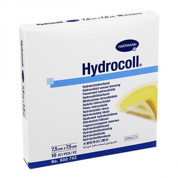 HARTMANN HYDROCOLL PANSAMENT HIDROCOLOIDAL STERIL 7.5X7.5CM X 10BUC