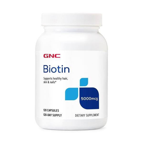 GNC BIOTIN 5000MCG X 120 CAPSULE