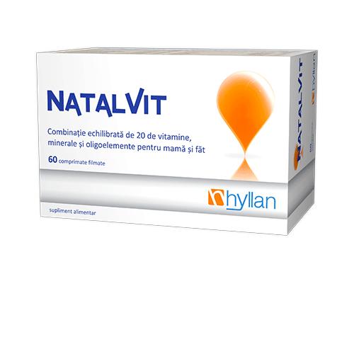 NATALVIT 60 COMPRIMATE FILMATE